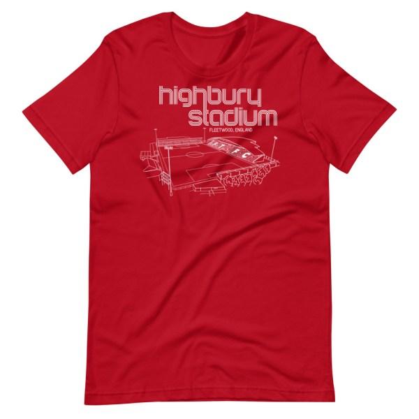 Fleetwood Town and Highbury Stadium T-Shirt