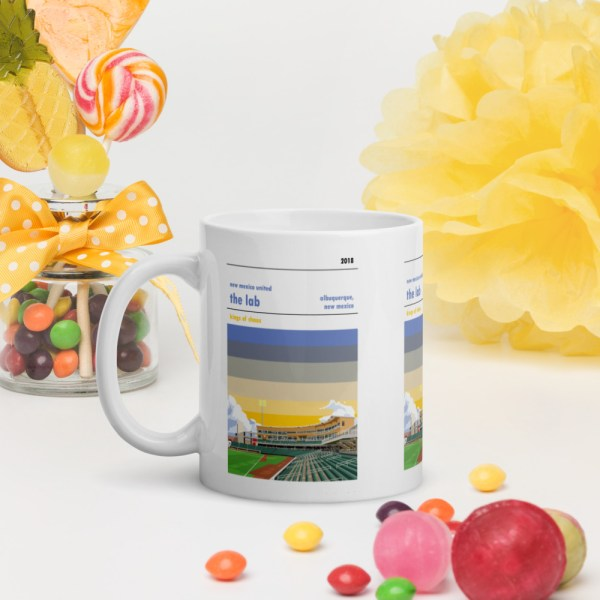 New Mexico United and the Lab soccer mug
