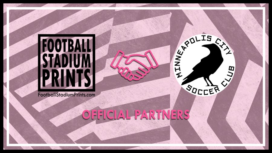 Minneapolis City SC and Football Stadium Prints Official Partners