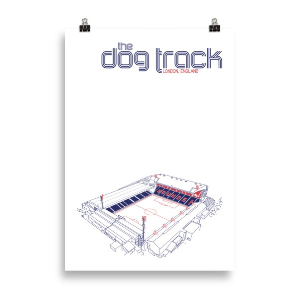 Massive Ted Lasso AFC Richmond and Dog Track Football Print