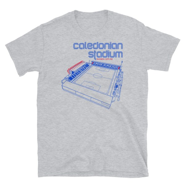 Calendonian Stadium and Inverness Caley Thistle T-Shirt