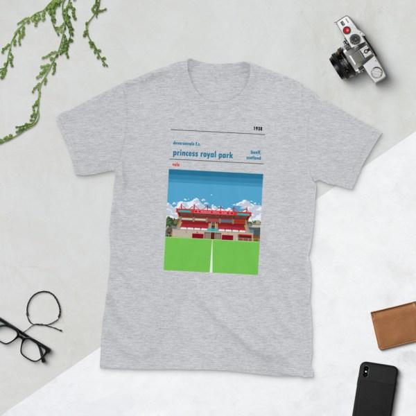 Grey Deveronvale and Princess Royal Park T-Shirt