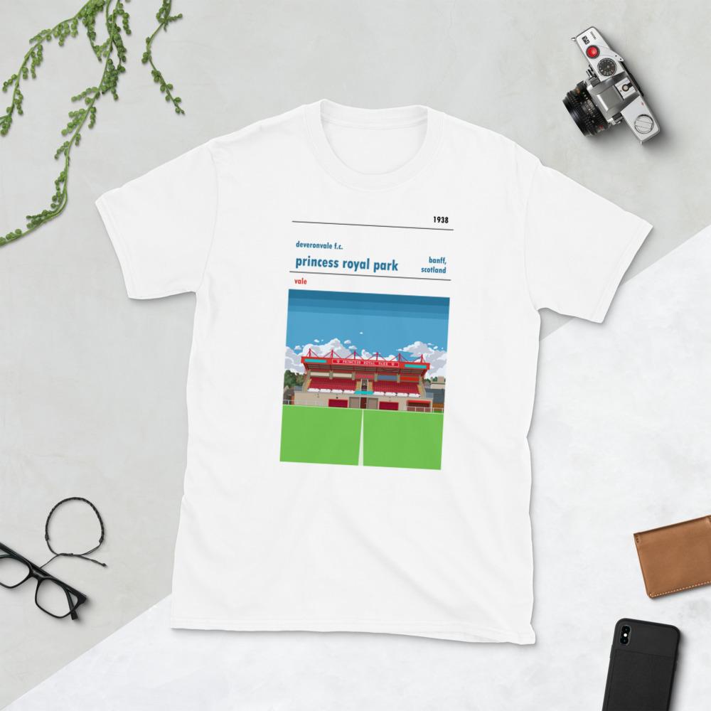 White Deveronvale and Princess Royal Park T-Shirt