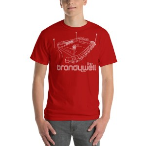 Red Derry City FC and Brandywell T-Shirt