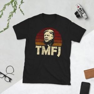 Black Trevor James TMFJ Detroit City T-Shirt