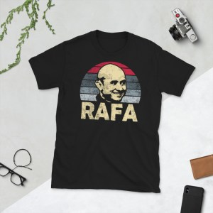 Black Rafa Castillo and San Antonio T-Shirt