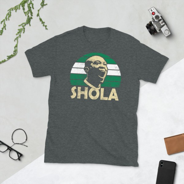 Heather Shola Ameobi Nigeria T-Shirt