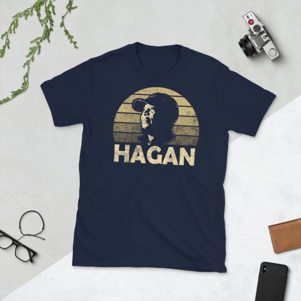 Navy Darian Hagan T-Shirt