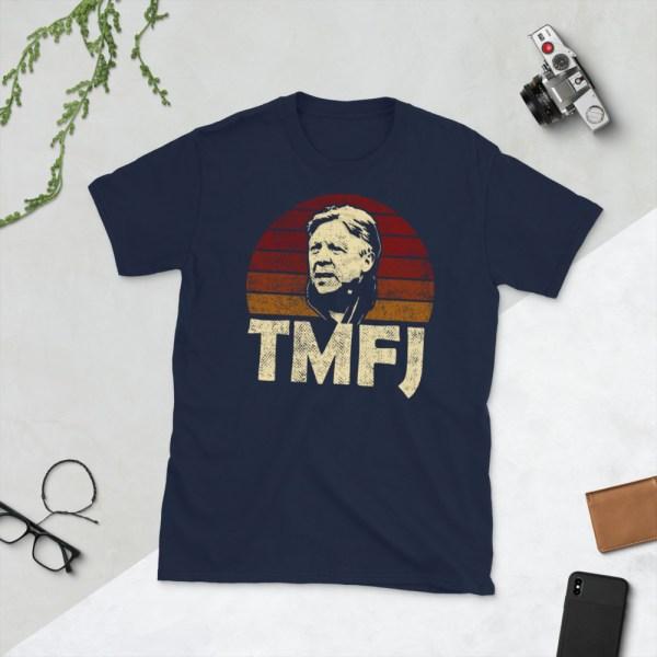 Navy Trevor James TMFJ Detroit City T-Shirt