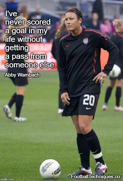 Abby Wambach quote