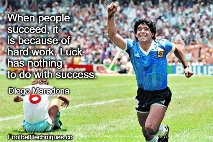 Diego Maradona quote