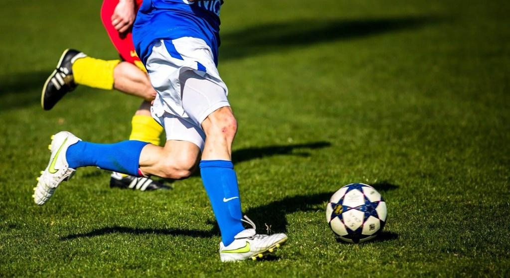 Dribbling a defender