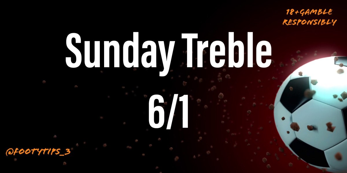 After another treble up yesterday I'm going with the same sort of odds. Today's football treble is coming in at 6/1!! Looks another cert football bet.