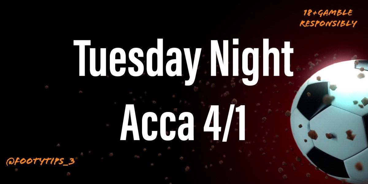 A lovely high stake low odds at 4/1 football tip for Tuesday 7th July.