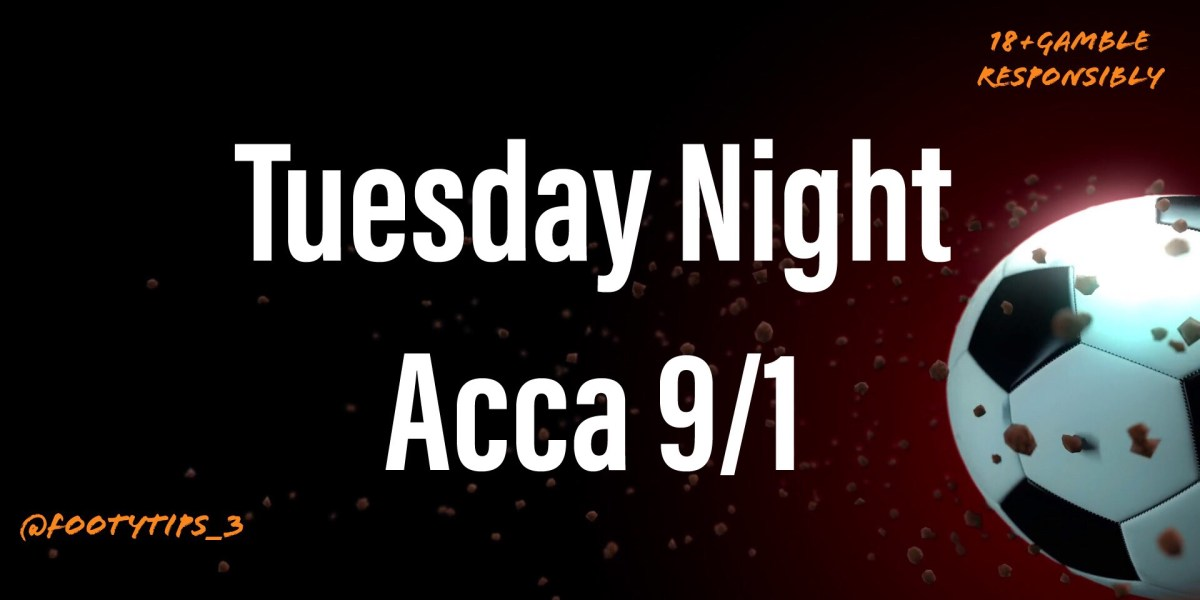 Free football tip with odds at 9/1 for Tuesday 28th September.