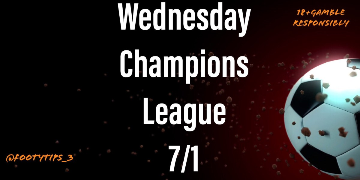 Champions League Football Tip for Wednesday 4th November with odds at 7/1.