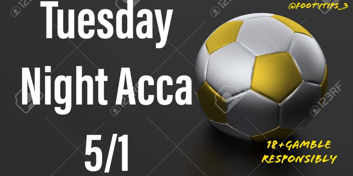 Tuesday night football tip for January 26th with odds coming in at 5/1.