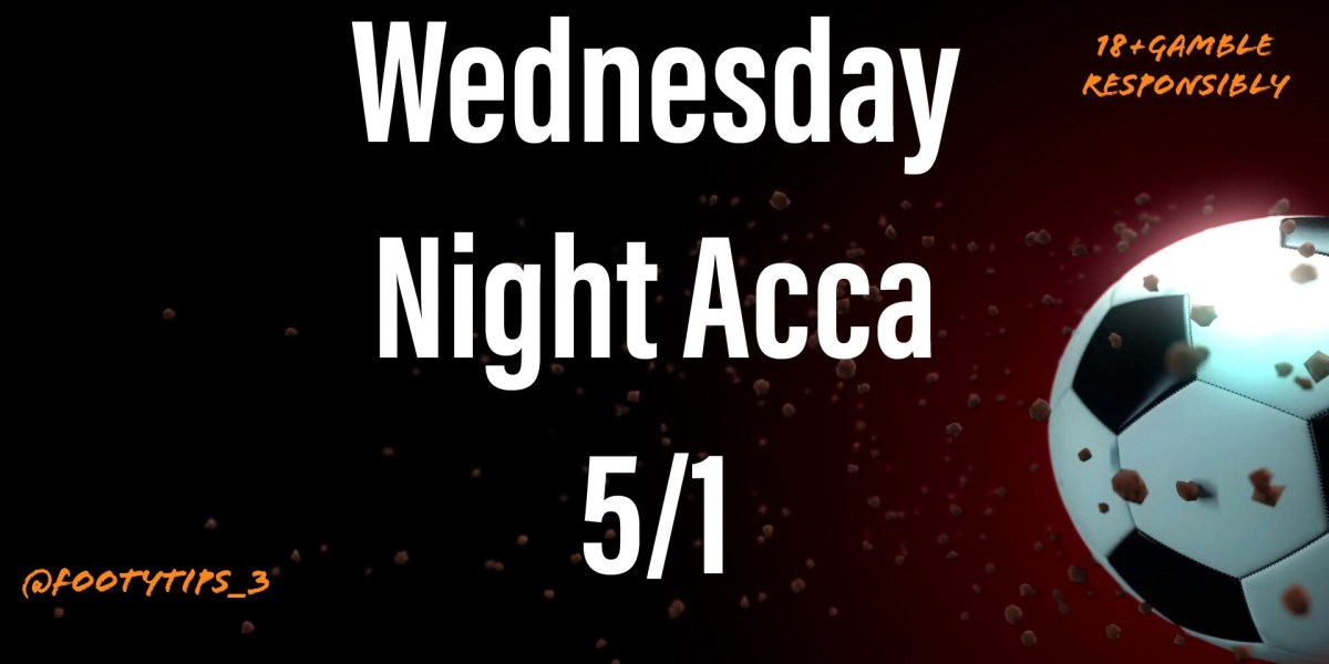 Wednesday night football tip for January 27th with odds coming in at 5/1.