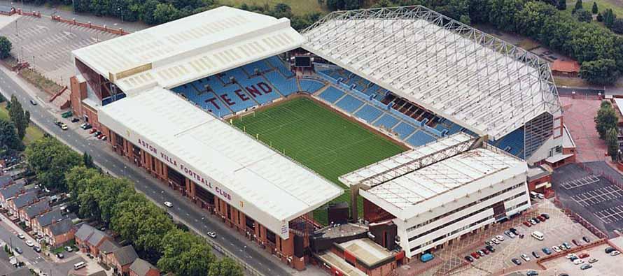 Villa Park Stadium Aston Villa Guide Football Tripper