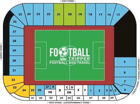 arena stage diagram ford starter drive ricoh stadium guide - coventry city | football tripper