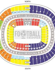 Wembley seating plan football also stadium england national team tripper rh footballtripper