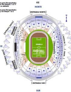 Estadio azteca seating chart also seatle davidjoel rh