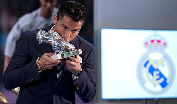 Роналду лучший бомбардир 2015
