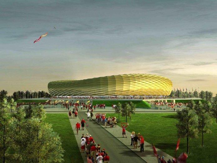 Стадион в Калининграде к ЧМ 2018
