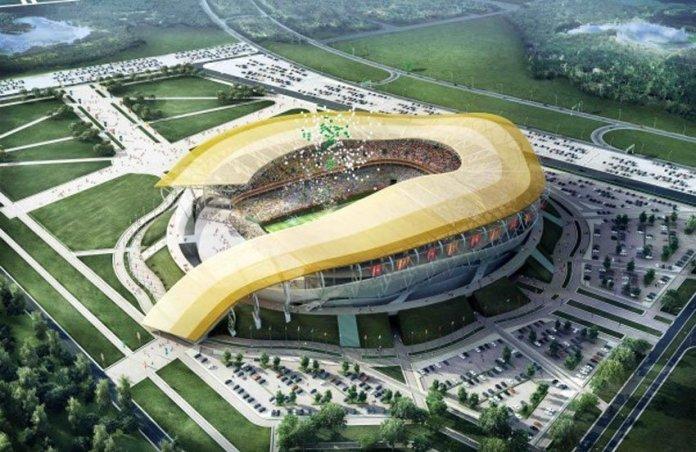 Стадион В Ростове к Чемпионату Мира