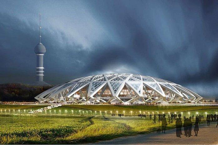 Стадион в Самаре к ЧМ