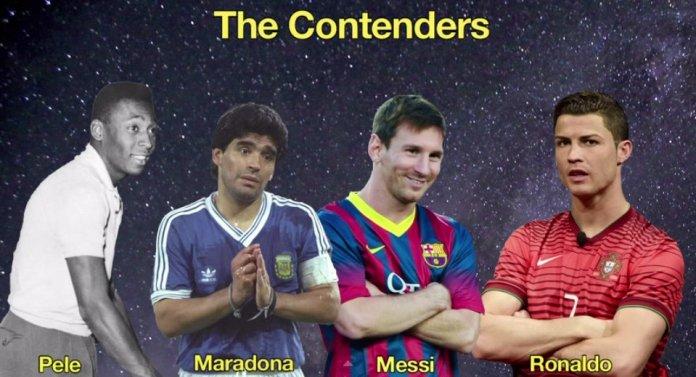 Голы великих футболистов