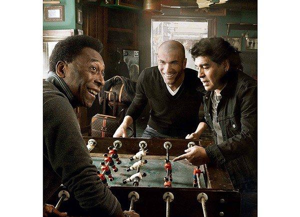 Легендарные футболисты