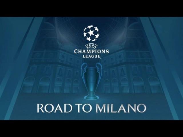 Финал лиги чемпионов в Милане