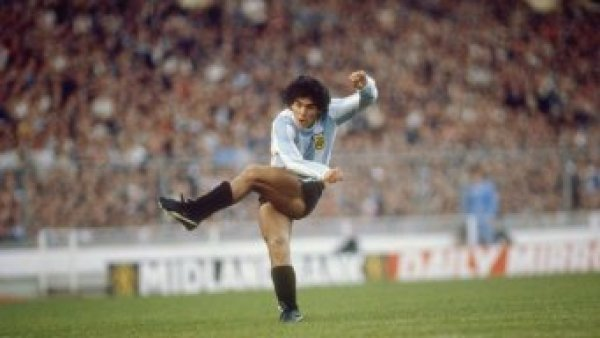 Карьера Марадоны в футболе