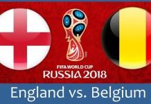 Англия - Бельгия : матч за третье место ЧМ