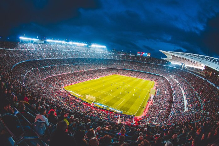 Самый крупный стадион в Европе