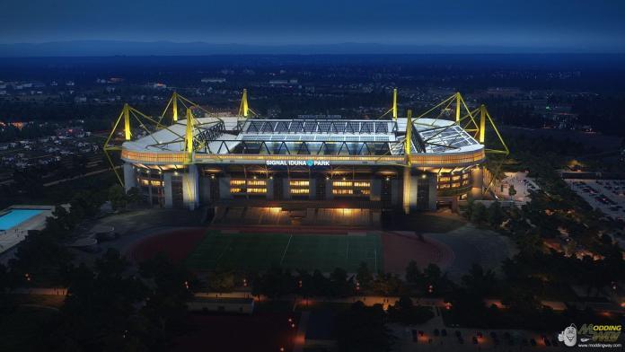 Самый крупный немецкий стадион