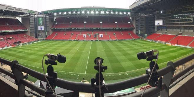 Камеры фиксирующие дистанцию футболиста
