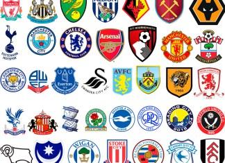 Эмблемы английских футбольных клубов