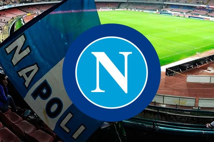 Лого известной команды из Италии - Наполи