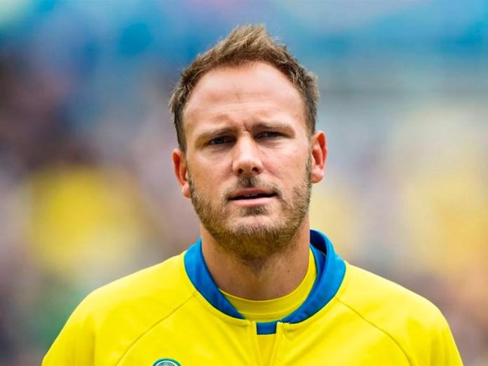 Андреас Гранквист - фото капитана сборной Швеции