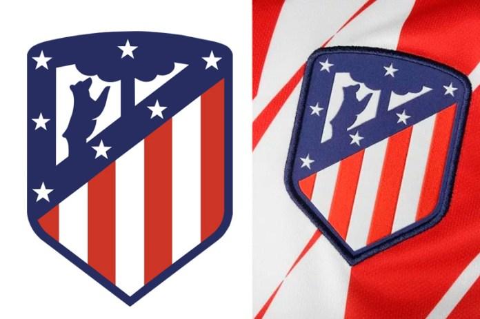 Атлетико Мадрид эмблема на форме