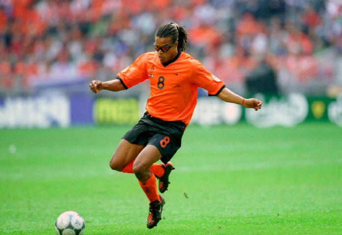 Эдгар Дэвидс голландский футболист в очках