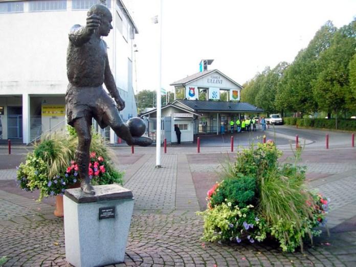 Статуя Гунара Грена в Гетеборге фото