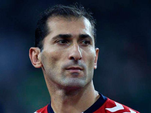 Саркис Овсепян фото футболиста Армении