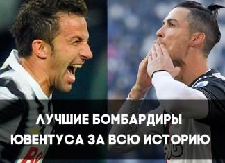 Лучшие бомбардиры футбольного клуба Ювентус