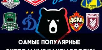 Самый популярный футбольный клуб в России