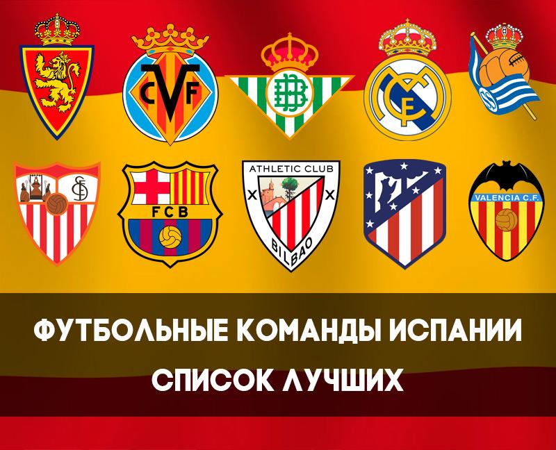Самая лучшая футбольная команда испании