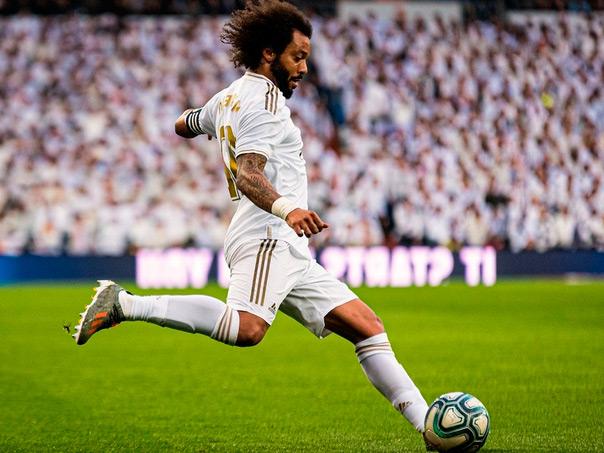 Крайний защитник Реала - Марсело