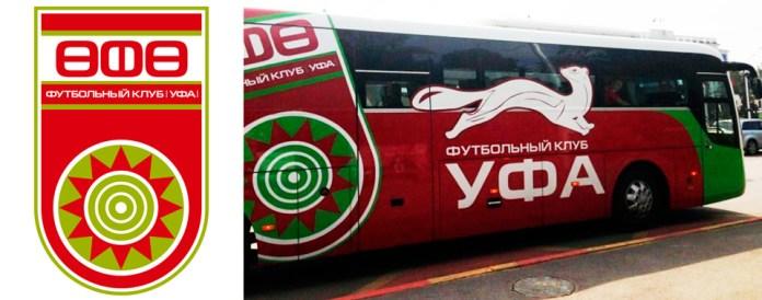 Автобус ФК Уфа